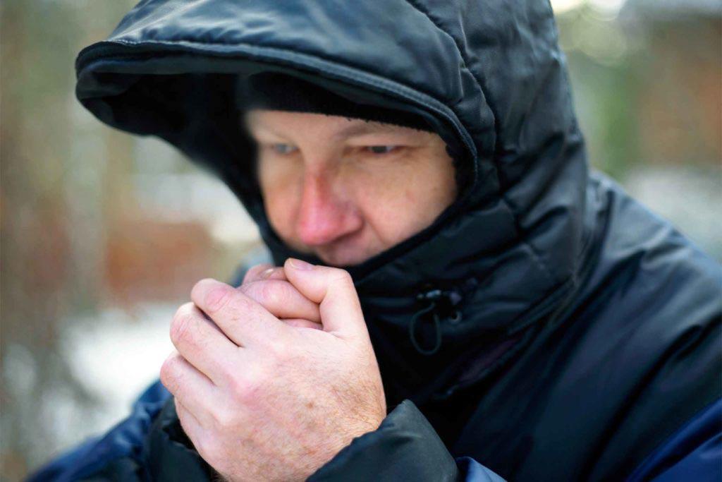 تاثیر زمستان و سرما بر بدن