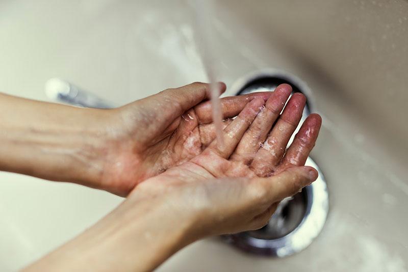 شستن دست، ویروس کوکساکی