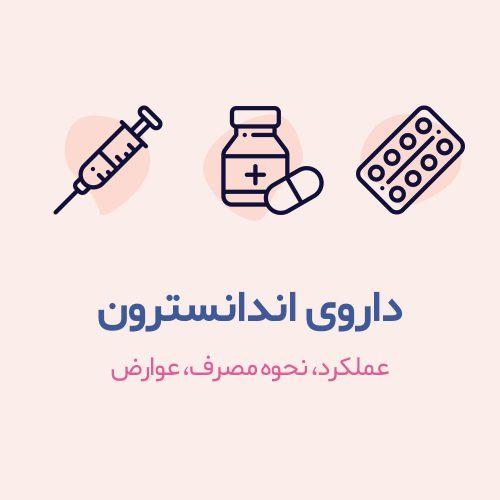 داروی اندانسترون به تنهایی یا همراه با داروهای دیگر برای جلوگیری از حالت تهوع و استفراغ ناشی از مصرف داروهای سرطان (شیمی درمانی) و پرتو درمانی استفاده میشود. همچنین از این دارو برای پیشگیری یا درمان حالت تهوع و استفراغ بعد از عملهای جراحی استفاده میشود.