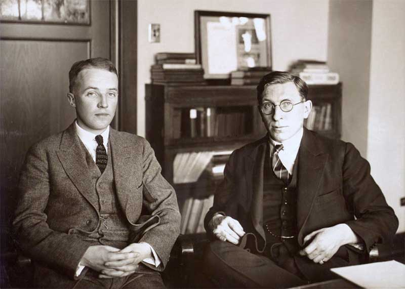 C._H._Best_and_F._G._Banting