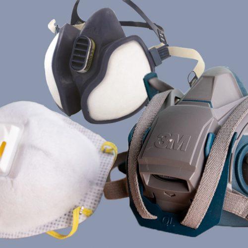 ماسک های تنفسی آلودگی هوا دکترتو