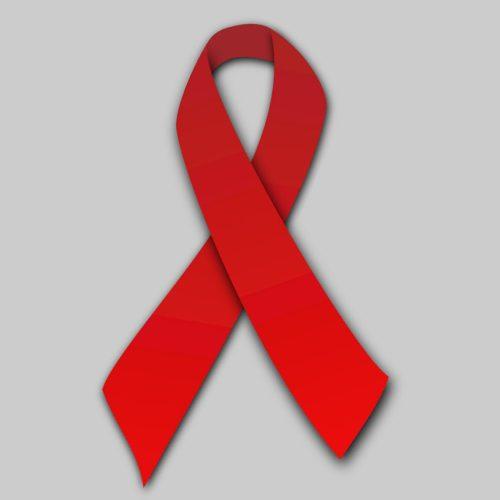 روبان قرمز، نماد همبستگی با افراد مبتلا به ایدز و یا HIV مثبت است