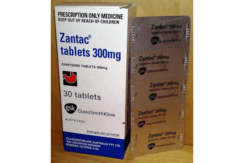 یکی از نامهای تجاری داروی رانیتیدین، زانتاک است.