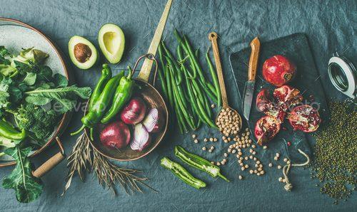 گیاه خواری و انواع آن