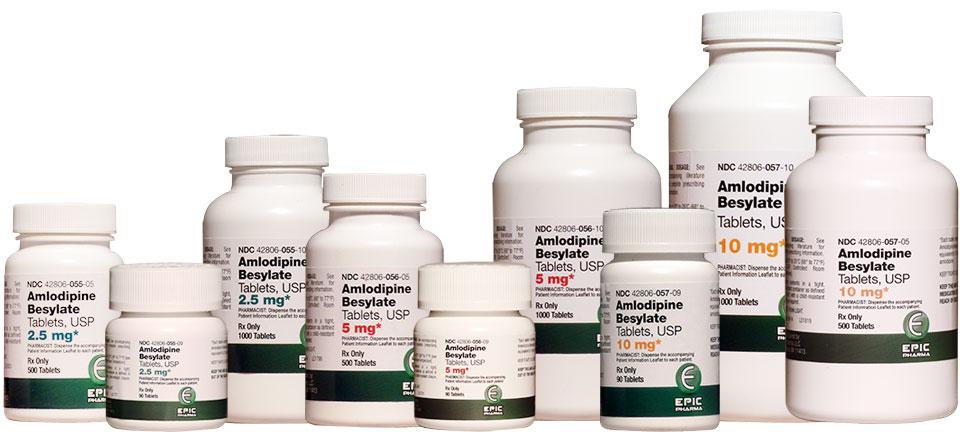 اشکال دارویی آملودیپین