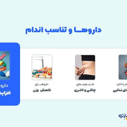 داروهای افزایش وزن