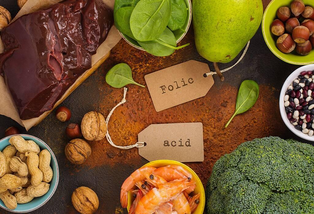 منبع-غذایی-فولیک-اسید