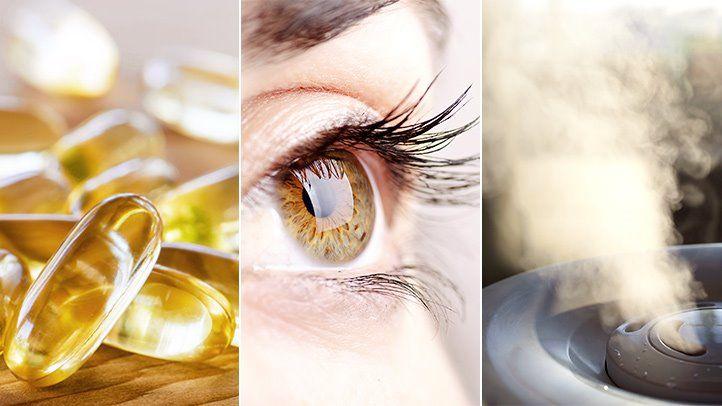 درمان-خانگی-خشکی-چشم