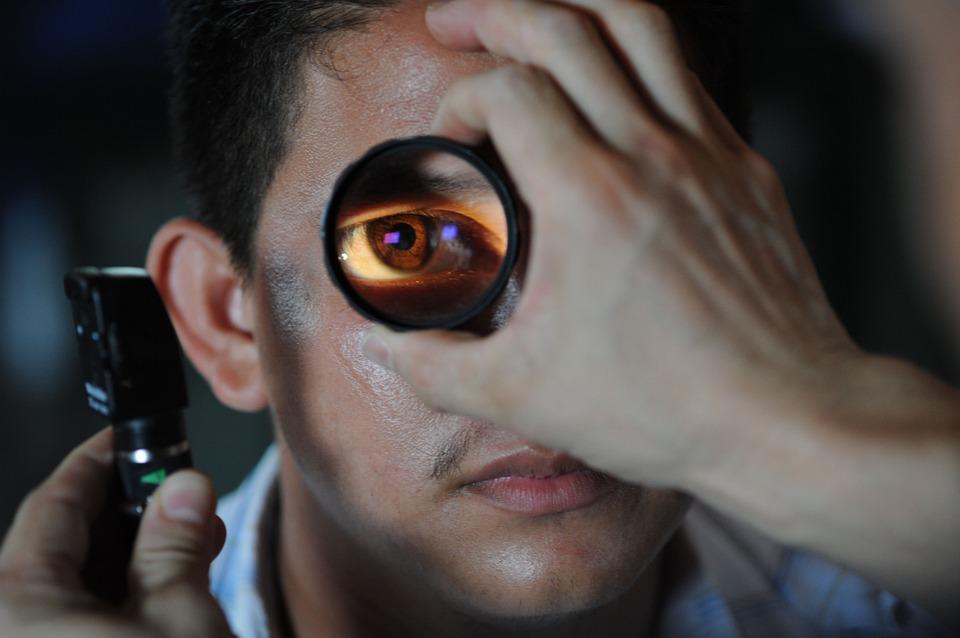 خشکی-چشم