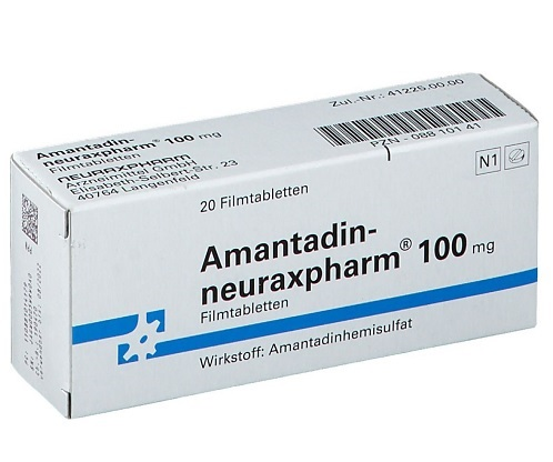 Amantadin-Drug-Parkinson
