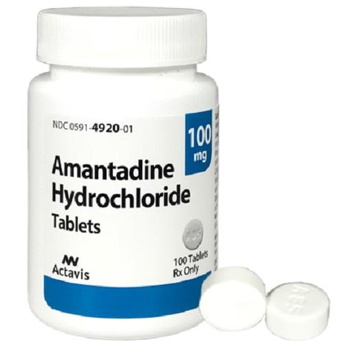 آمانتادین گاهی برای درمان سکسکه یا سندروم محرومیت از کوکائین به کار میرود.