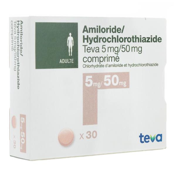 آمیلوراید-هیدروکلروتیازید