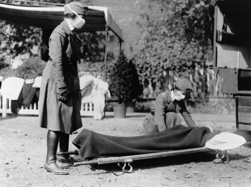 آنفولانزای دنیاگیر 1918